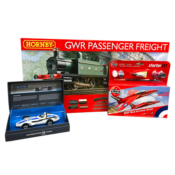 Hornby, Airfix and Scalextric