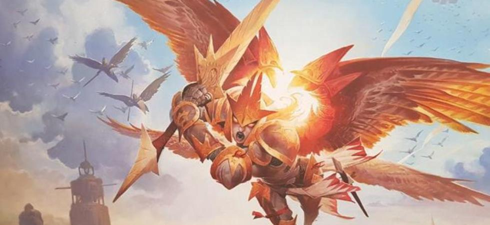Feather the Redeemed War of the Spark Art by Wayne Reynolds