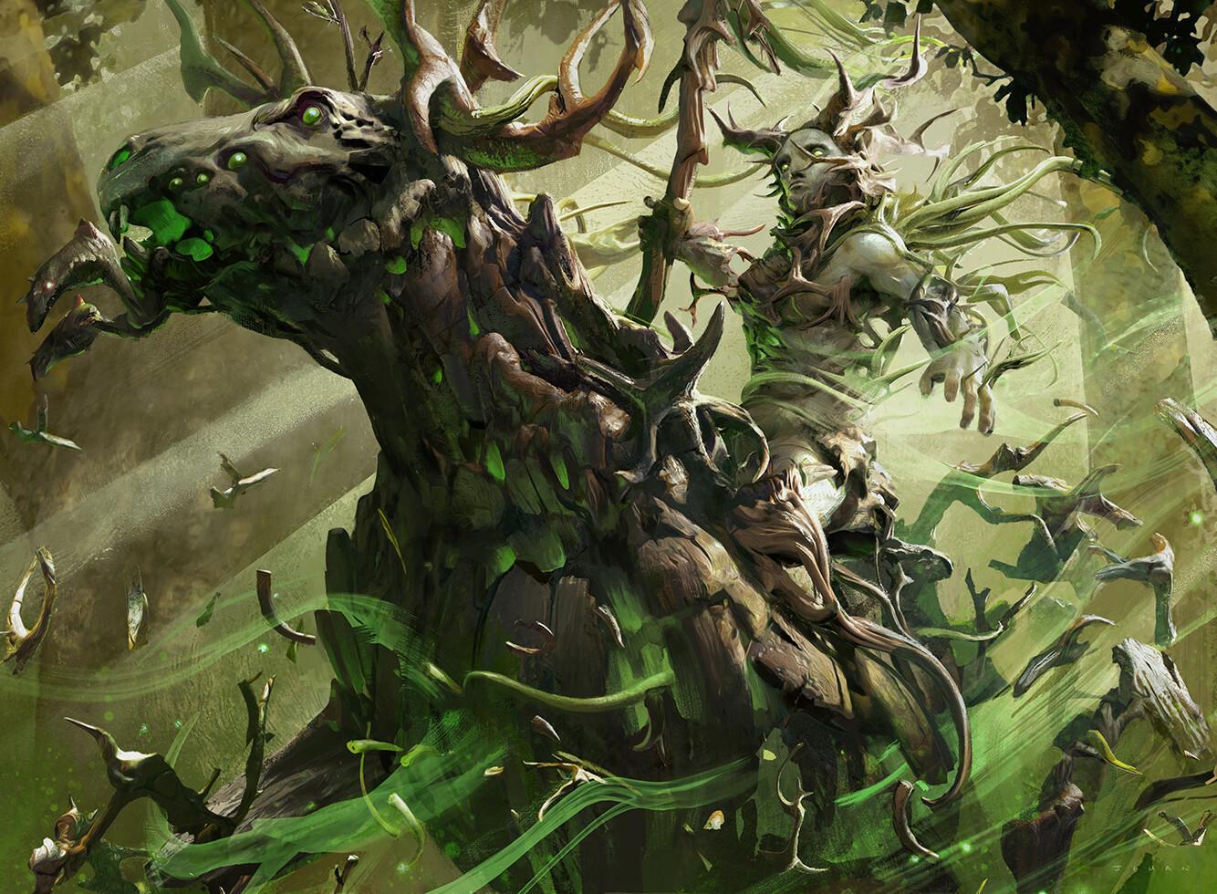 Cavalier of Thorns (M20) Art by Jehan Choo