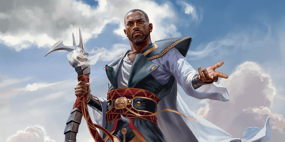 Teferi, Hero of Dominaria (Dominaria) Art by Chris Rallis