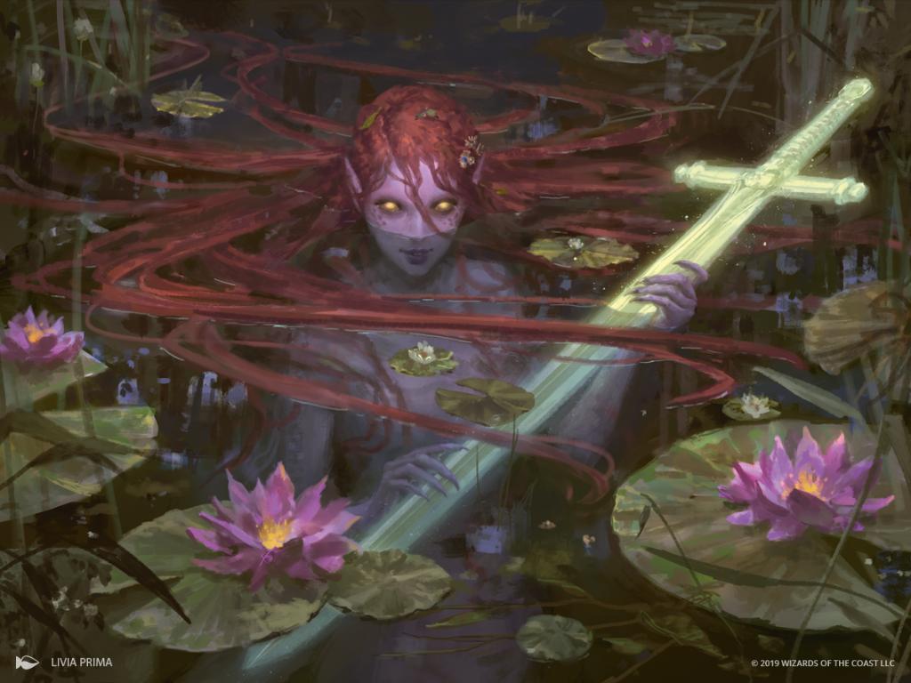 Lurker of the Loch NM-Mint 4x Emry English Throne of Eldraine MTG Magic