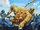 Ajanis-Pridemate-War-of-the-Spark-Art-Sidharth-Chaturvedi