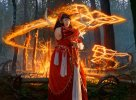 Irencrag Pyromancer Art by Jason Rainville