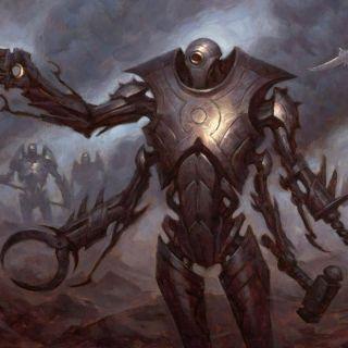 Steel Overseer Art by Chris Rahn
