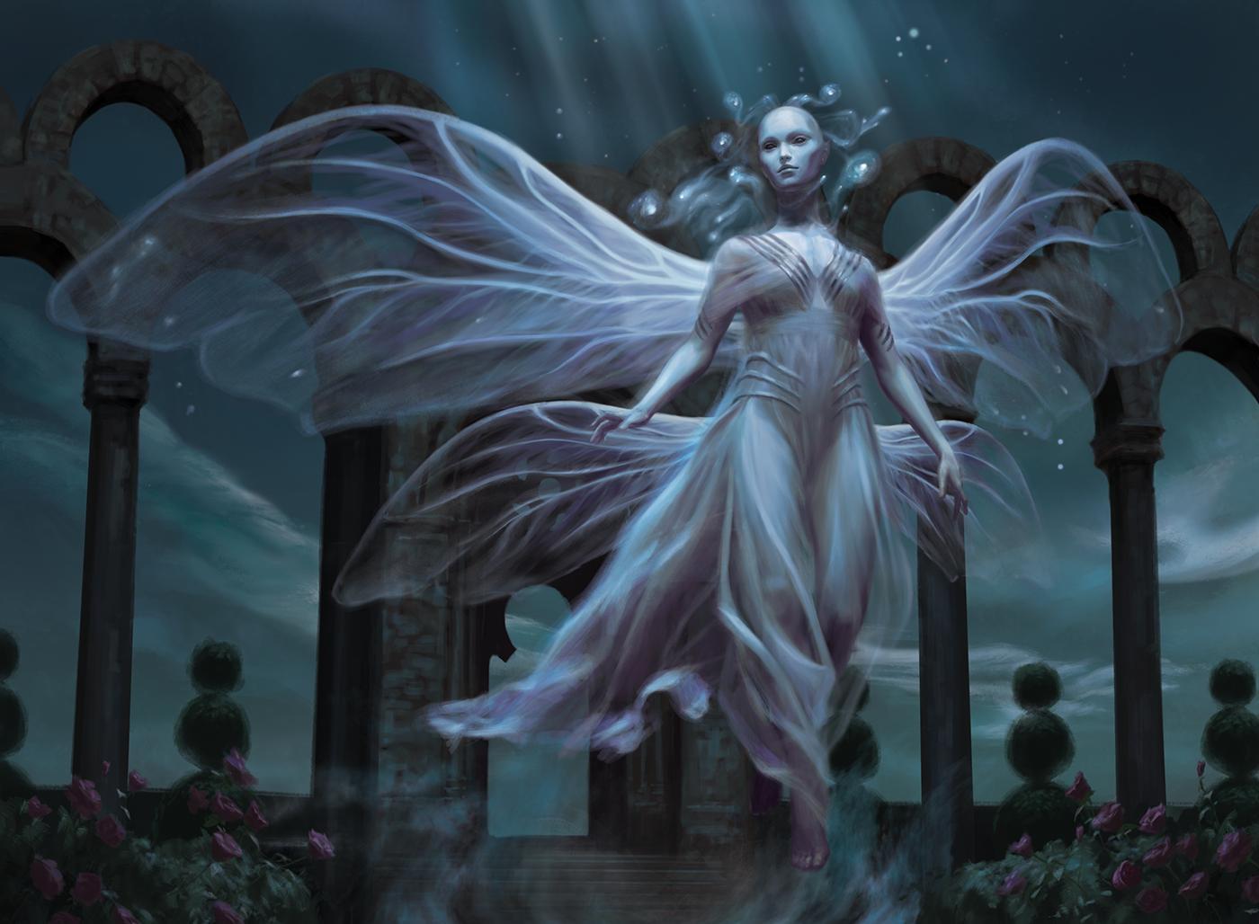 Faerie-Guidemother-Throne-of-Eldraine-MtG-Art