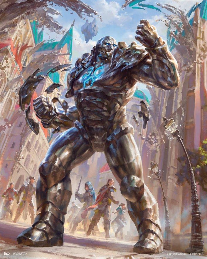 Karn-the-Great-Creator-War-of-the-Spark-Arts