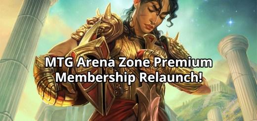 MTG Arena Zone Premium Membership Relaunch!