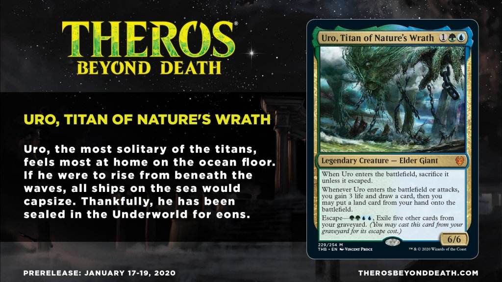 Uro, Titan of Nature's Wrath Story Card