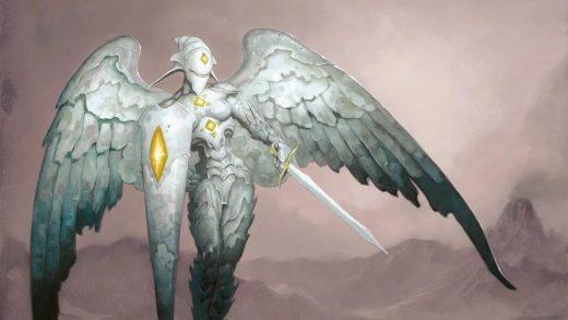 Platinum Angel Art by Brom