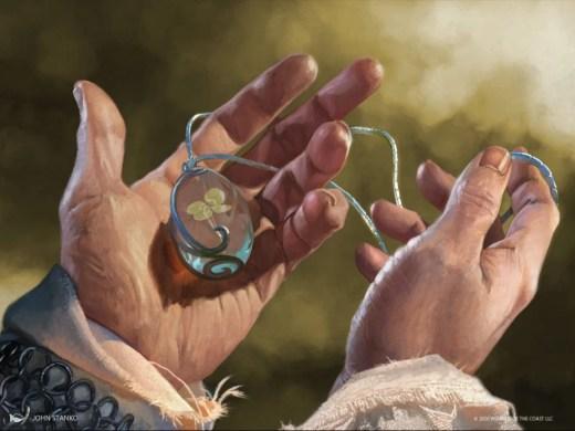 Lucky Clover Art by John Stanko