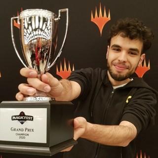 MagicFest Lyon 2020 Champion Biagio Ruocco