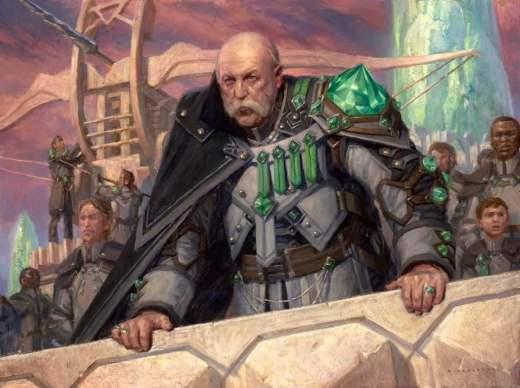 General Kudro of Drannith Art by Ryan Pancoast