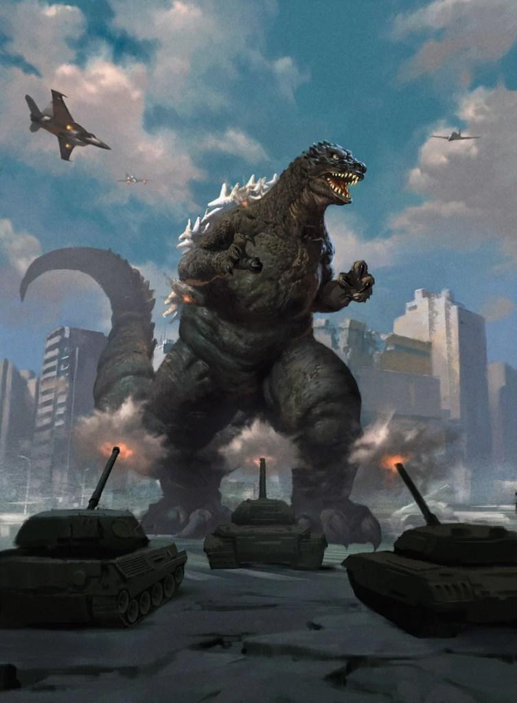 Godzilla-Primeval-Champion-Art-by-Lius-Lashido