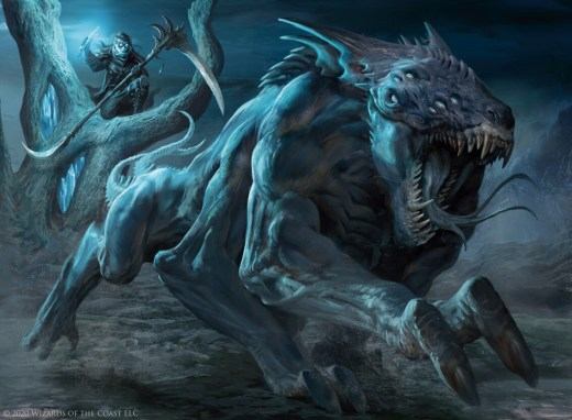 Hunted Nightmare Art by Antonio Jose Manzanedo