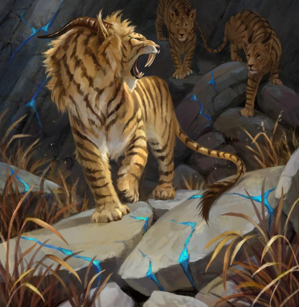 Huntmaster Liger Art by LeeshaHannigan