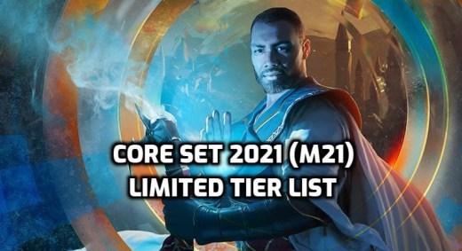 Core Set 2021 Limited Tier List