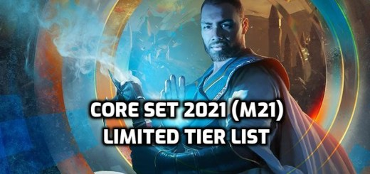 Core Set 2021 Limited Tier List