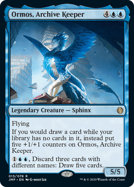 Ormos, Archive Keeper