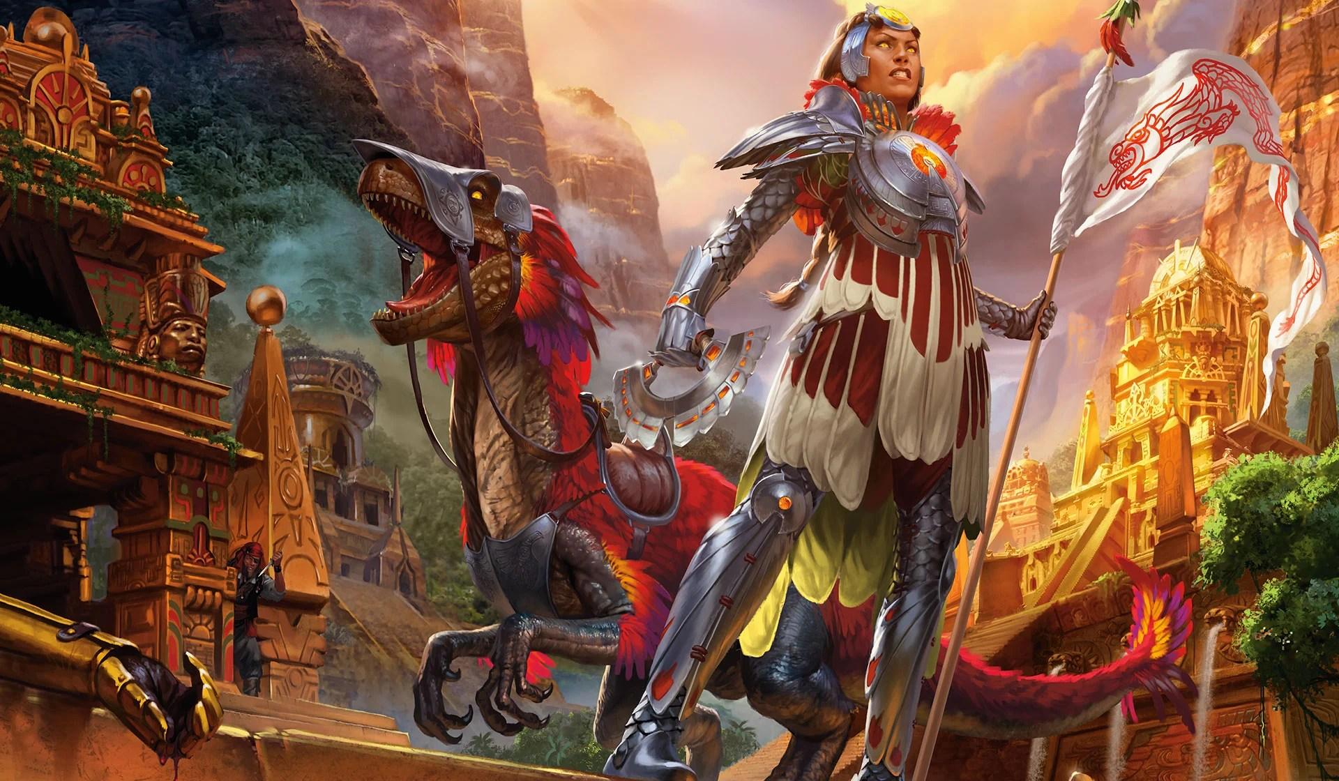 Rivals of Ixalan Key Art