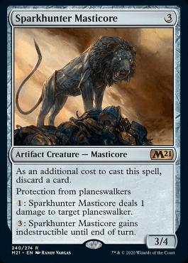 Sparkhunter Masticore Spoiler