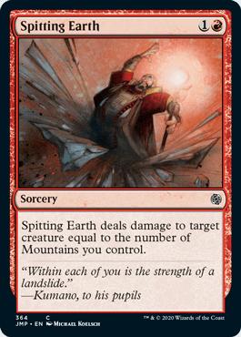 Spitting Earth
