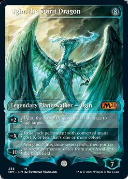 Ugin, the Spirit Dragon Card Style