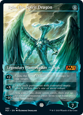 Ugin, the Spirit Dragon Card Style
