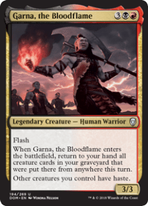 Garna, the Bloodflame Historic Brawl Deck