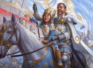Boros Human Knights - Standard 2021 Artisan