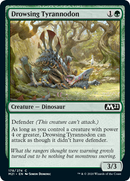 Drowsing Tyrannodon