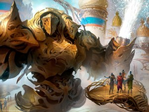 Torrential Gearhulk Art by Svetlin Velinov
