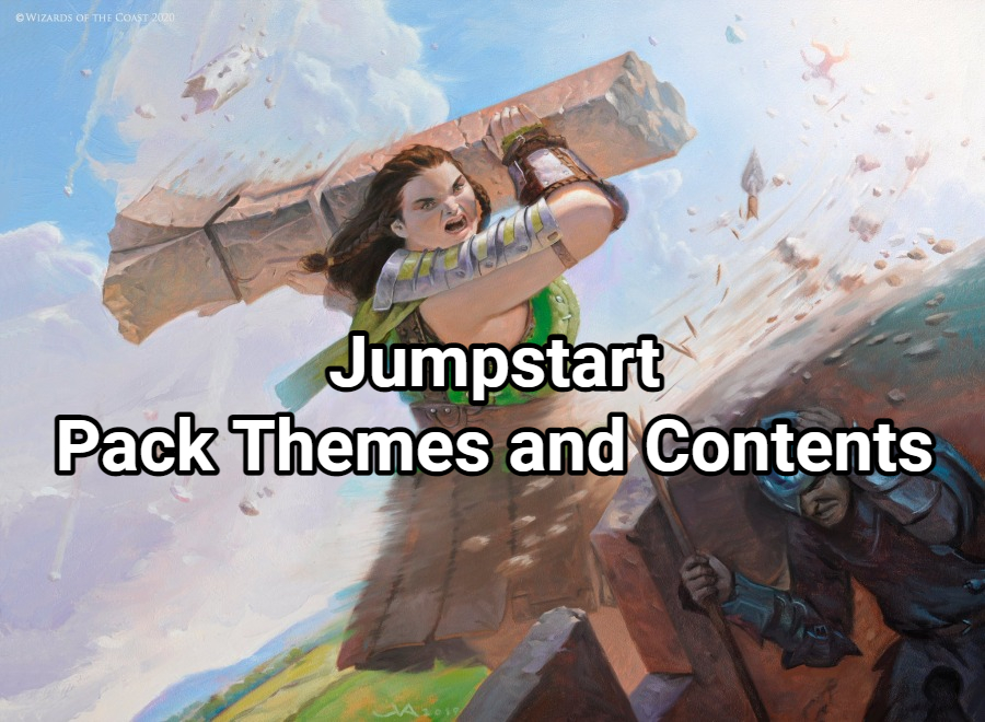 Jumpstart Pack Themes and Contents