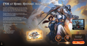 Historic All Access - FNM at Home Event Guide and Decklists
