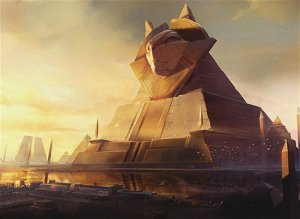 Historic Mono White Monument - Amonkhet Remastered