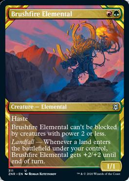 Brushfire Elemental