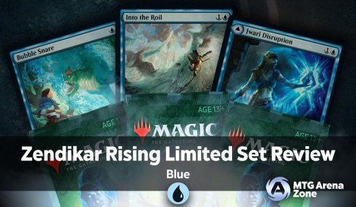Zendikar Rising Limited Set Review Blue