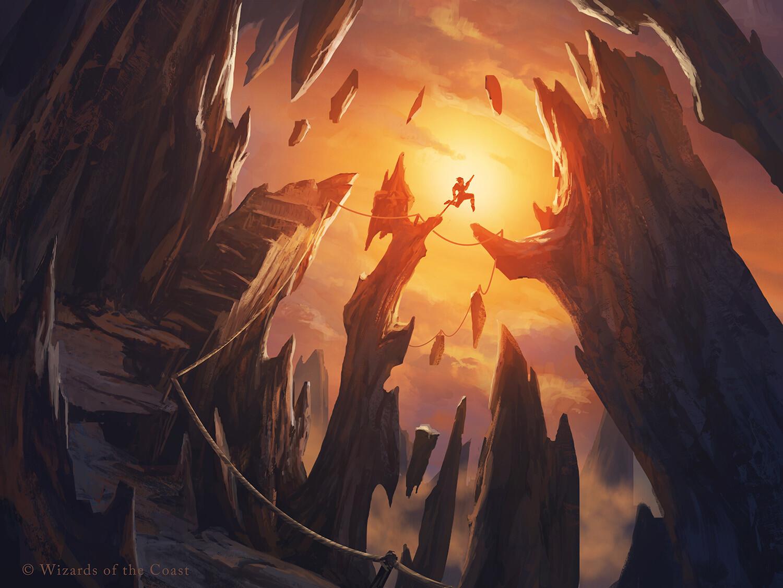 Cragcrown-Pathway-Zendikar-Rising-MtG-Art