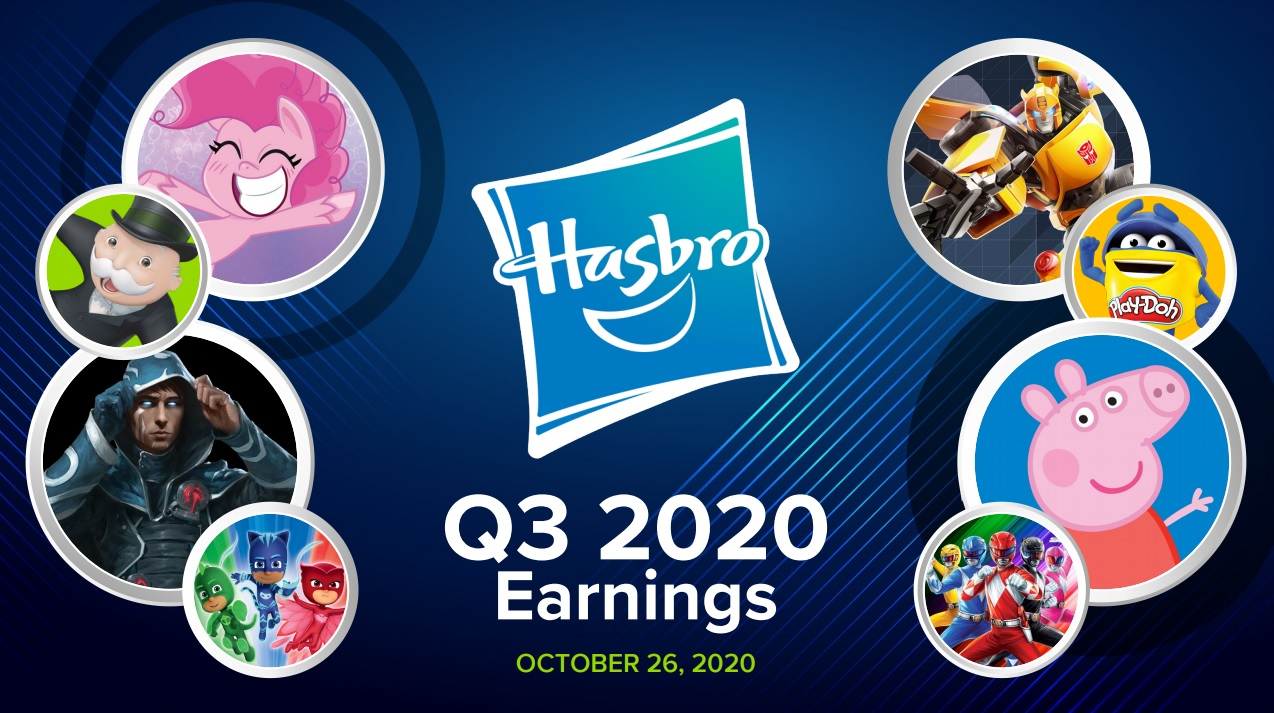 Hasbro Q3 2020 Earnings
