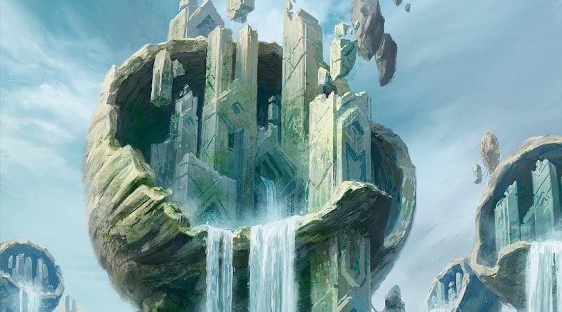 Zendikar Rising Full Art Island
