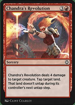 Chandra's Revolution