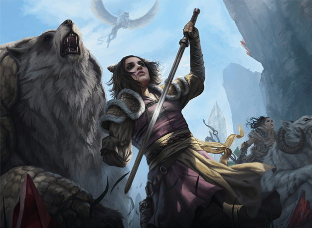Winota, Joiner of Forces Art by Magali Villeneuve
