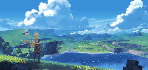 Genshin Impact Panorama