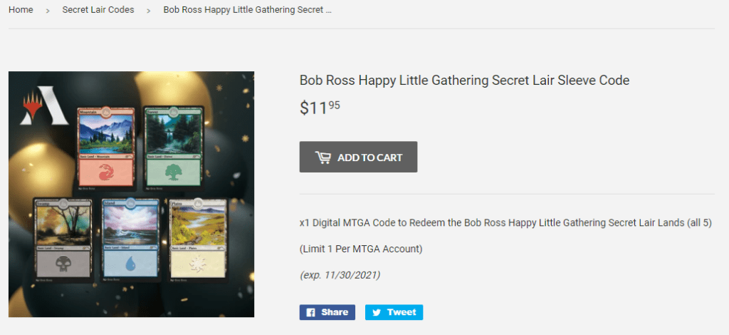 Gray Viking Games Bob Ross Secret Lair