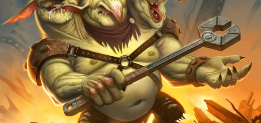 Three-Headed Goblin (Unstable) Art by Mike Burns