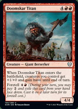 Doomskar Titan