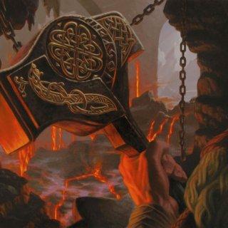 Dwaven Hammer Art by Raoul Vital