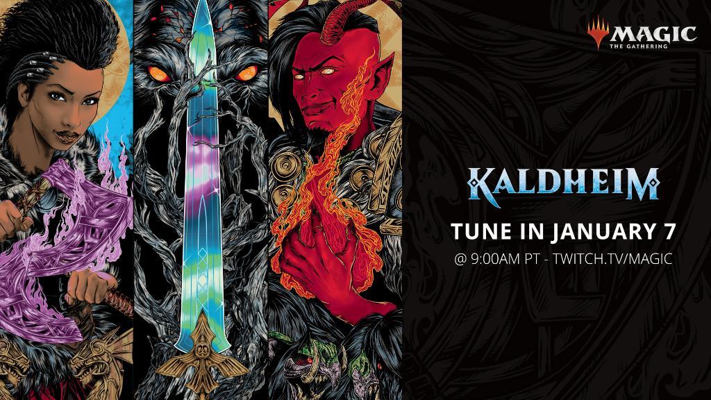 Kaldheim Announcement Stream