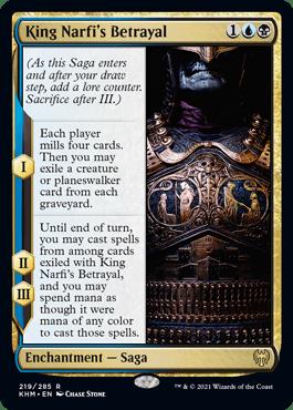 King Narfi's Betrayal