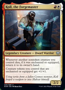 Koll, the Forgemaster