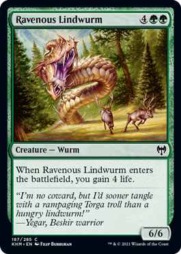 Ravenous Lindwurm